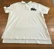 Polo Ralph Lauren Big Horse Embroidered S/S Polo Shirt Adult XL Custom Fit