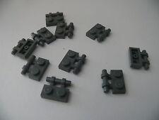 Lego 10 poignees gris fonce bluish 21016  7622 7199 / 10 dark bluish pl modified