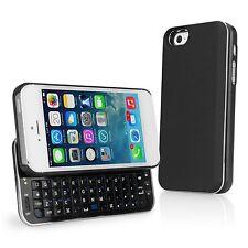 BoxWave Backlit Keyboard Buddy Apple iPhone 5 Case (Black) - Slim Bluetooth