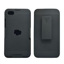 Black Belt Clip Swivel Kickstand Holster Case Cover for BlackBerry Z30 Z 30