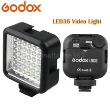Godox LED36 Video Light 36 LED Lights for DSLR Camera Camcorder mini DVR US DV