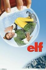 Elf Movie Poster- Globe- One Sheet  24 x 36