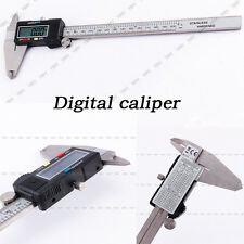 "8"" 200mm Digital LCD Caliper Vernier Gauge Micrometer Metal Housed ahz"