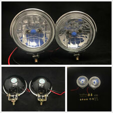 "2 X 3.5"" 100W Halogen Fog Lights DRL Autos Headlights Reversing Lamps Waterproof"
