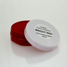 RED Leather Colour Dye Restorer for ALFA ROMEO Car Interiors, Seats,