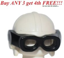 ☀️NEW Lego City Boy/Girl Minifig Hat WHITE w/ Black Googles Aviator