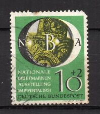 Germany : 1951 Wuppertal Stamp Exhibition ( used )