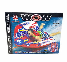 WOW Pro Steer Flex Wing Inflatable Towable Tube 1-2 Riders NEW Water sports