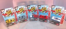 New Dickie Toys Transformers Collection of 5 Die Cast Model Bundle