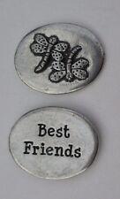 v Dragonfly Best Friends spirit PEWTER POCKET TOKEN CHARM basic coin