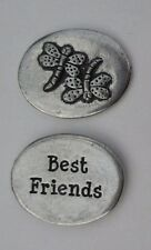 u Dragonfly Best Friends spirit PEWTER POCKET TOKEN CHARM basic coin