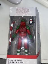 Star Wars Black Series 6-Inch GameStop Exclusive - Holiday Edition Clone Trooper