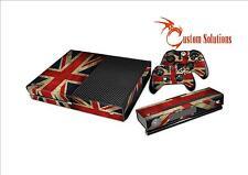 Xbox 1 ONE Console & Controller Aufkleber Skin Satz Union Jack-Flagge