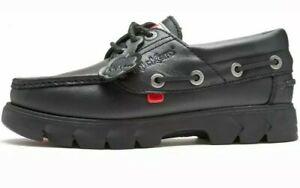 Kickers Lennon Leather Deck Shoe size 6 UK ####25