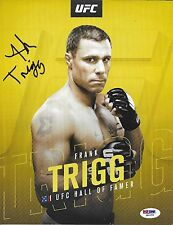 Frank Trigg Signed 8.5x11 Photo PSA/DNA COA UFC Hall of Fame Promo Picture Auto