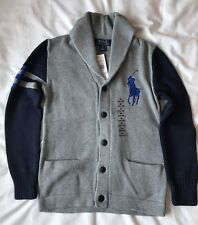 BNWT Ralph Lauren Boys Cardigan Size M (10-12)