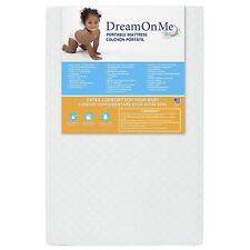 3� Extra Firm Fiber Portable Crib Mattress I Waterproof I Gold Certified