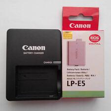 LP-E5 Battery & LC-E5E For Canon XSi 450D 500D 1000D EOS-Kis F T1i XS X2 X3 E5