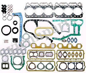 ND6 ND6T Full Overhaul Gasket Kit For Nissan Engine UD Truck Upper Lower Set