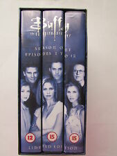 Buffy The Vampire Slayer - Season 1 Collection - Episodes 1 To 12 (VHS, 1999,)