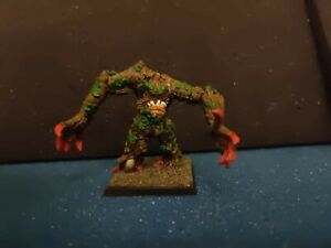WARHAMMER WOOD ELF ELVES HALFLINGS TREEMAN BLOOD BOWL METAL PAINTED OOP