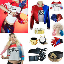 Halloween Harley Quinn Daddy's Lil Monster Cosplay Suicide Squad Accessories AU