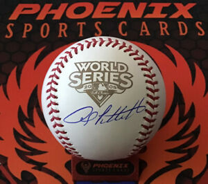 Andy Pettitte Signed Official 2009 World Series Baseball MLB + Fanatics