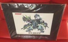 Limited Edition Konami Metal Gear Acid 2 artwork cell FACTORY SEALED NEW
