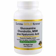 California Gold Nutrition, Vegetarian Glucosamine, Chondroitin, MSM Plus Hyaluro