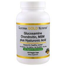 California Gold Nutrition, Vegetarian Glucosamine, Chondroitin, MSM Hyaluronic A