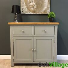 Greymore Painted Sideboard Oak Small / Oak Cupboard / Solid Wood / Dresser / New