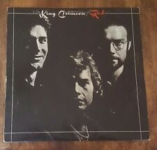 King Crimson ‎– Red (1985) Editions EG – EGKC 8 Collectors Ed Vinyl, LP, Album