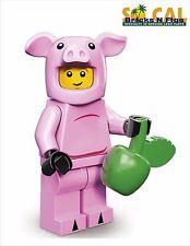 LEGO MINIFIGURES SERIES 12 71007 Piggy Guy - Unused Code