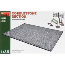 NEW MiniArt 1/35 Cobblestone Section w/Street Accessories 36043