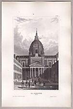 Universität Sorbonne Paris, Frankreich, France, - Stich, Grafik, Stahlstich 1850