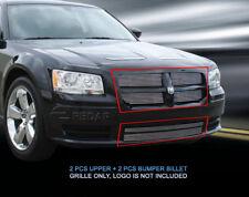 Fedar Billet Grille Combo For 2008-2010 Dodge Magnum Except SRT8 - Polished