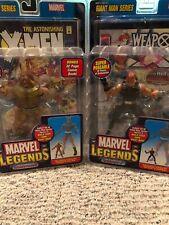 Marvel Legends Age of Apocalypse Sabertooth And Wolverine (Bald Variant)
