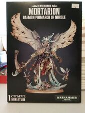 Warhammer 40K Death Guard Mortarion Daemon Primarch of Nurgle  NEW