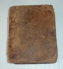 RARE 1829 POCKET DICTIONARY French & English Languages THOMAS NUGENT J OUISEAU
