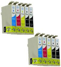 10 tinta cartucho XXL Epson Stylus d68 d68pe d88 d88pe d88 plus gi611-614 NonOem
