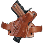 Galco Silhouette High Ride Leather Holster - Right Hand - Black SIL248B