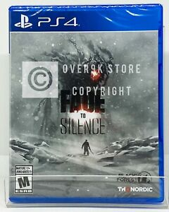 Fade to Silence - PS4 - Brand New | Factory Sealed
