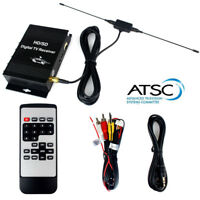 Car Radio DVD Digital ATSC TV Tuner FTA Receiver Box 4 Video Out HD/SD Convertor