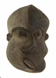 Ancien Masque Pende Mbangu de Maladie Art coutumier Africain RDC 17221
