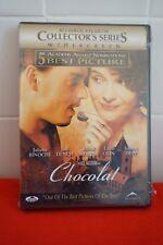 Chocolat (DVD, 2001) NEW SEALED RARE MOVIE COLLECTOR JOHNNY DEPP BINOCHE