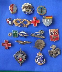 Lot D'insignes Militaire Parachutiste Indochine Rpima Air