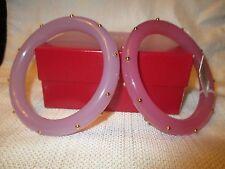 KJL KENNETH JAY LANE pair Studded Bangle Bracelets NWT and box