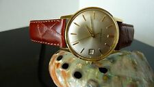 Eterna Matic Gold plated Men's watch pristine condition-Beautiful-RARE