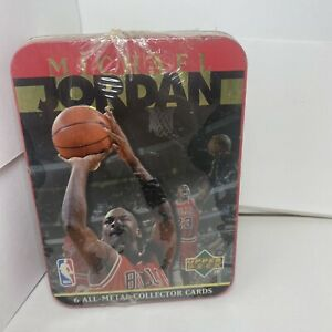 Brand New Sealed 1996 Upper Deck Michael Jordan Bulls All-Metal Collector Cards