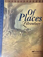 Abeka 8th grade English book Of Places Literature fourth edition text